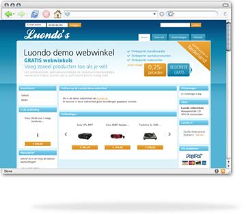 bekijk de webwinkels van Luondo.nl